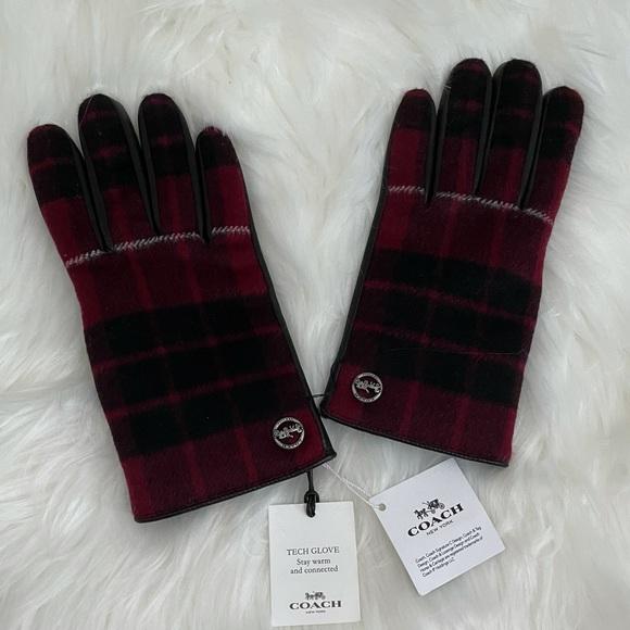 NEW Coach Tech Gloves (unused)